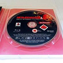PS3 Playstation 歐版 Metal Gear Solid 潛龍諜影 4 MGS MGS4 愛國者之槍