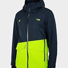 【荳荳物語】波蘭品牌4F男款雪衣拼色款,防水係數10k,(S~2XL)特價4280元