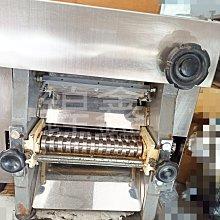 【鍠鑫食品機械】現貨出清!二手桌上型不鏽鋼製麵條機 220v壓麵兼可製麵