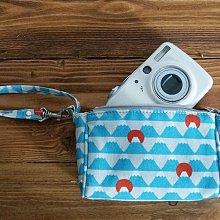 京都 にっぽんCHACHACHA 日本製 富士山 零錢 包 相機 包 化妝 手拿 小包 萬用包 有內層設計