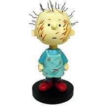 全新含盒SNOOPY史努比 美國 西島WESTLAND8162 PIGPEN 搖頭娃娃 小雕像 絕版品