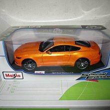 1風火輪多美美捷輪Maisto橘1/18合金車福特2015 Ford Mustang GT野馬1:18跑車七佰九一元起標
