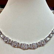 總重3.86克拉天然鑽石項鍊,手工訂製高級珠寶,鑑賞價328000元,搭配高等級超亮小鑽,只有一個值得收藏,超厚重14K金,大器華麗款式