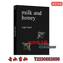 青衣書社 能量 療愈 牛奶與蜂蜜 英文原Y版 Milk and Honey Rupi Kaur 心靈治愈書籍Qy788