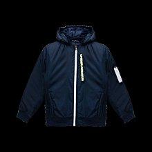 *昕衣屋*轉賣UNDER ARMOUR男童連帽飛行員鋪棉夾克外套深藍色-1346675-408-XL160