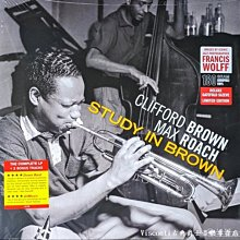 @【Jazz Images】Clifford Brown & Max Roach:Study In Brown-黑膠