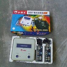 早期---小霸王電視遊戲機---老式插黃卡懷舊任天堂8位元FC紅白機