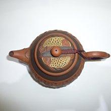 茶壺/紫砂壺/朱泥壺/王松煌製年年有魚壺