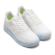 =CodE= NIKE AIR FORCE 1 CRATER FLYKNIT 環保材質籃球鞋(白藍)DC7273-100