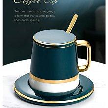 創意個性辦公室喝水杯馬克杯帶蓋勺杯子陶瓷情侶男女咖啡杯