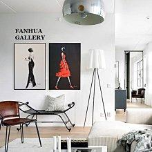 C - R - A - Z - Y - T - O - W - N 都市女性人物掛畫 時尚裝飾畫 客廳樣品屋空間設計掛畫