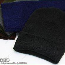 【ARMYGO】素色保暖毛線帽 (五色可選擇)