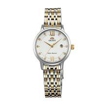可議價 ORIENT東方錶 女 白色時尚 石英腕錶 (SSZ45002W) 28mm