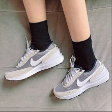 【Dr.Shoes 】Nike WAFFLE ONE 限量 小SACAI 灰白 女鞋 DC0481-100