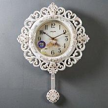 〖洋碼頭〗歐式時尚創意掛鐘表客廳簡約石英鐘個性家用大擺鐘藝術時鐘搖擺鐘 xtm114