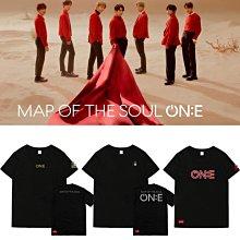 金泰亨鄭號錫MAP OF THE SOUL ONE演唱會周邊同款應援衣服短袖T