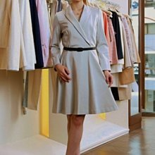 全新日本原裝進口clathas淡駝灰色洋裝INED,ICB,23區,untitled,anayi