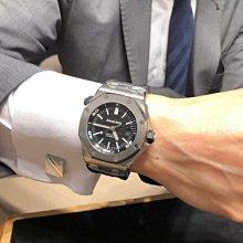 運動手表手表愛彼AP皇家橡樹離岸型15703ST夜光自動機械15710潛水男表運動