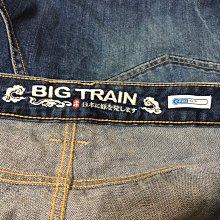 BIG TRAIN 墨達人 大尺碼 OVERSIZE 帥氣街頭風格 刷白抓皺 牛仔短褲 20181123-1