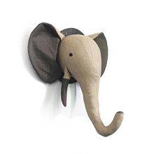 〖洋碼頭〗北歐個性兒童房服裝店櫥窗樣板房立體大象動物頭牆飾純手工壁掛飾 mlb103