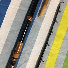 日本製 頂級鯨穗調竹竿 江戶和竿名師手作 小物並繼船竿 164cm 五尺半 黑鯛竿 筏竿 班竿 烏鰡竿 路亞竿 可刷卡