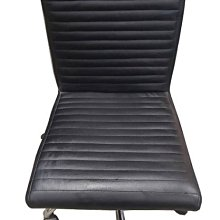 樂居二手家具(北) 便宜2手傢俱拍賣CF10307黑皮洽談椅* 二手 辦公桌椅 會議桌椅 洽談桌椅 主管桌椅 休閒桌椅