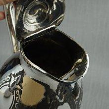 29英國鍍銀壺 Silver Plated 1970s Ornate Etched Coffee Pot