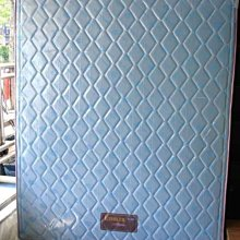 五尺雙人進口緹花布彈簧床墊非一般印花布(冬夏兩用)可選花色台灣製造 (台北縣市免運費)