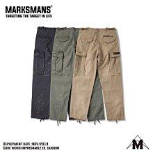 【希望商店】MARKSMANS  Ex. IMPREGNABLE CAISSON 軍事 潑漆 工裝 長褲