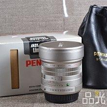 【台中品光數位】PENTAX FA 31mm F1.8 AL FOR PK口 #85059