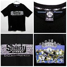SHADY STREET 嘻哈 街頭 滿版 印刷 logo 黑色 REMIX OVKLAB MADNESS UNIQLO