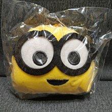 日本帶回限定非賣景品--[ 小小兵MINIONS]大臉造型超可愛絨毛玩偶掛飾