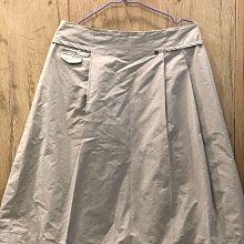 國際品牌夏姿灰色裙子42號