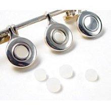 【六絃樂器】全新開孔長笛按鍵蓋 孔塞 / 矽膠材質 一組五粒
