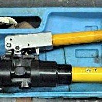 金光興修繕屋*  出租 端子壓著 油壓壓接鉗 端子壓接機 :C型模 非 Asada AE-438H