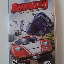 PSP 橫衝直撞:復仇之道 傳奇 英文版 Burnout Legends
