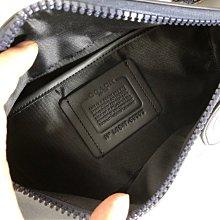 (Outlet特惠)COACH 69303 69305 新款男士RIVINGTON印花腰包 胸包 斜挎包 附代購憑證