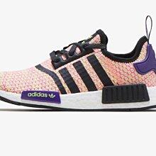 【E.D.C】Adidas Originals NMD R1 彩虹 編織 大童 女鞋 運動休閒鞋  EE4402