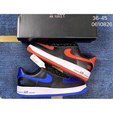 空軍一號 黑藍 黑紅 鴛鴦  數字 82 低幫 Nike Air Force 1 Low  空軍一號低幫百搭休閑運動板鞋