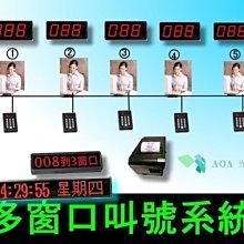 AOA專業抽號排隊叫號機-多窗口叫號+取票機系統-取票排號機取票輪流排號順序流水號機抽牌取號機等待人數排隊叫號