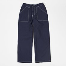 Poetic Collective Painter Pants - Navy / White Seams 滑板褲 寬褲 畫家褲 現貨販售