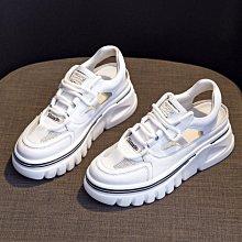 厚底涼鞋 DANDT 真皮網面鏤空厚底休閒涼鞋(21 JUN) 同風格請在賣場搜尋 AL或 歐美鞋款