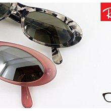 【My Eyes 瞳言瞳語】Ray Ban 雷朋經典品牌 RITUALS系列 貓眼造型太陽眼鏡