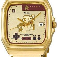日本正版 SEIKO 精工 ALBA ACCK711 超級瑪利歐 瑪利歐 手錶 日本代購