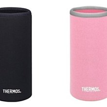 THERMOS 膳魔師杯瓶保護套 Z-BNJNL-500系列 黑色/淡粉色