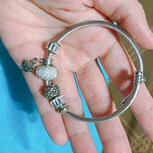 珠珠手鍊手環 僅試戴 非純銀