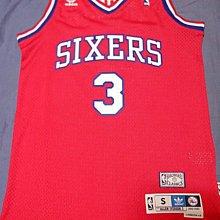 adidas NBA Allen Iverson 費城76人 AI 復古 球衣 洞洞