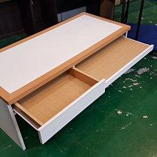 宏品二手傢俱館~E110209合室木紋白面電腦桌 書櫃*電腦桌 辦公桌 兒童桌椅 寫字桌 課桌椅 大學椅拍賣
