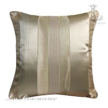 【芮洛蔓 La Romance】古典風情系列金色條抱枕 / 靠枕 / 靠墊 / 方枕