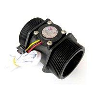 流量控制器 附上AC110V轉DC24V變壓器+2吋流量計